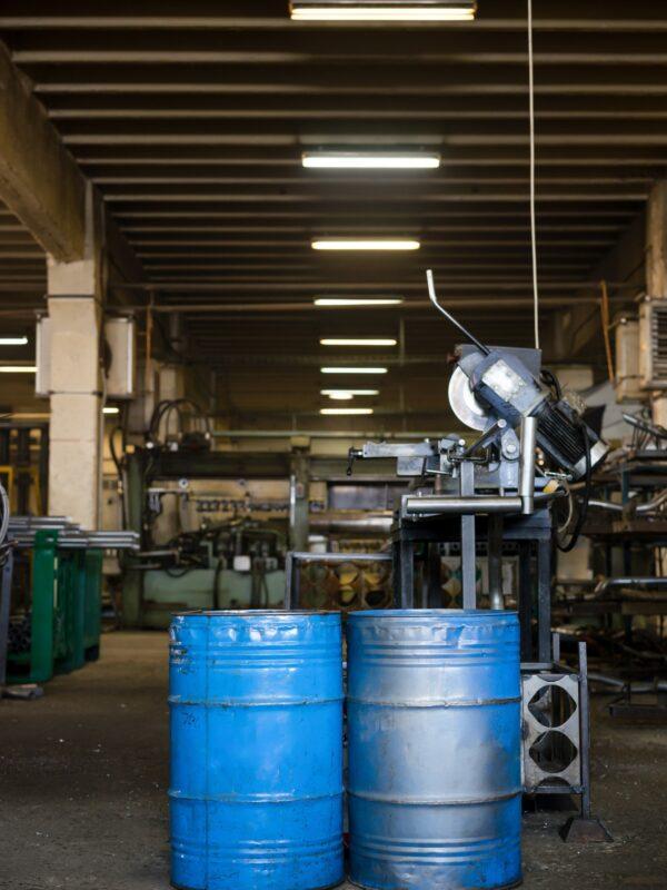 Raccolta, trattamento, trasporto e stoccaggio di rifiuti industriali